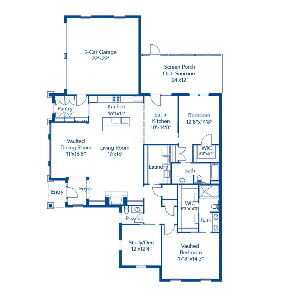 The Buckhead Floor Plan