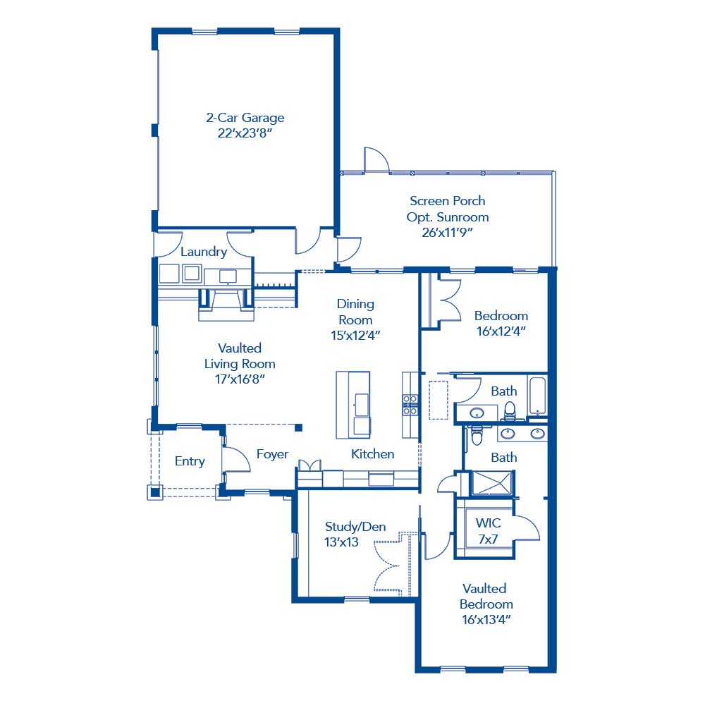 The Dunwoods Floor Plan