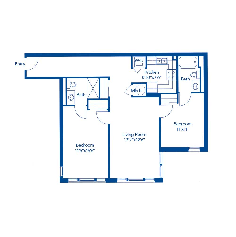 The Emory Floor Plan