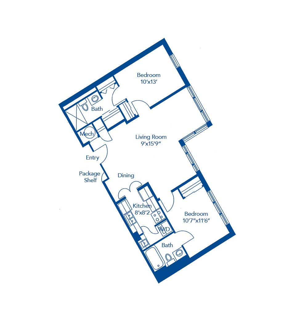 The Peachtree Floorplan