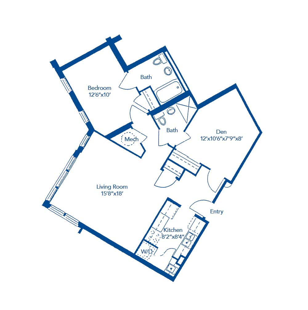 The Toccoa floor plan