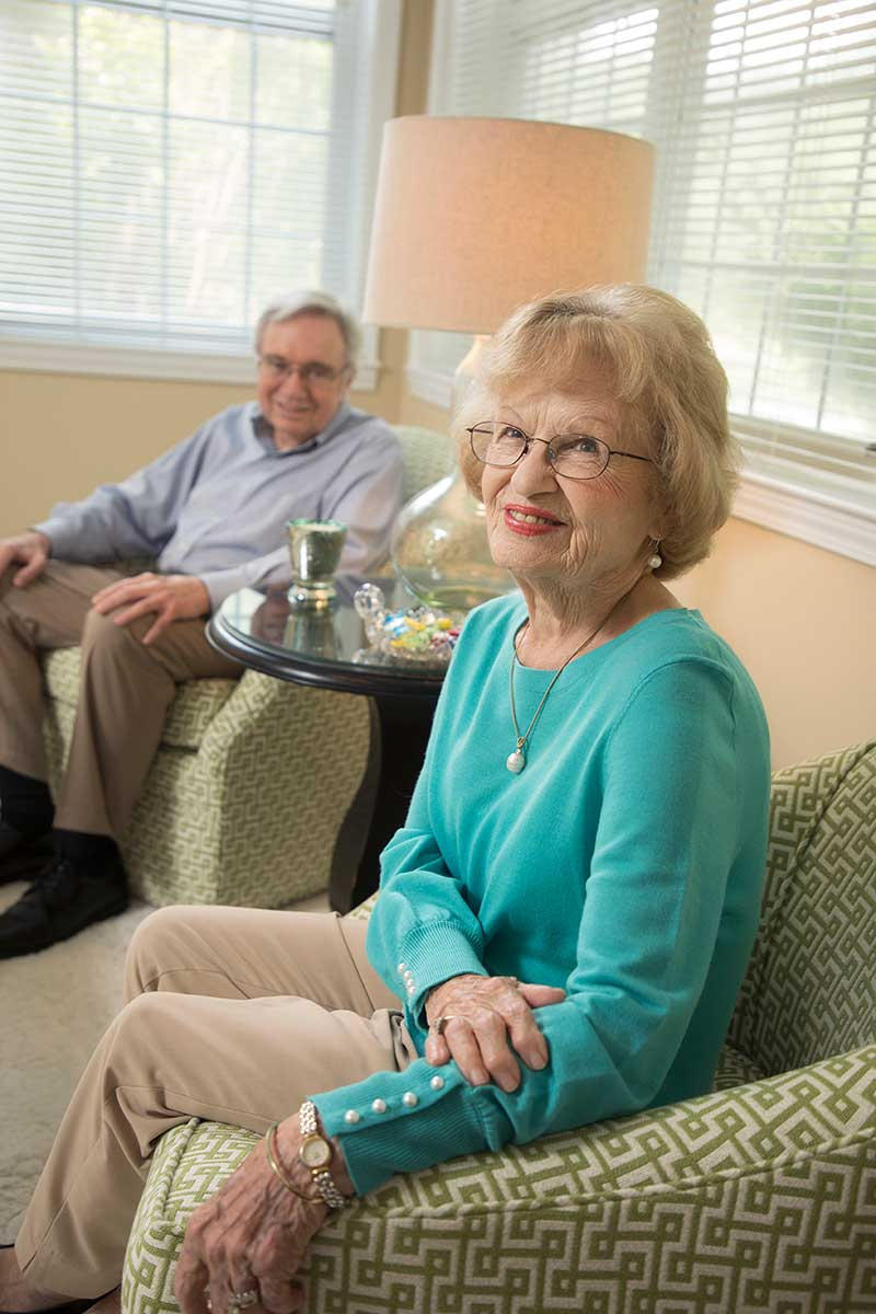 about Wesley Woods of Newnan happy resident