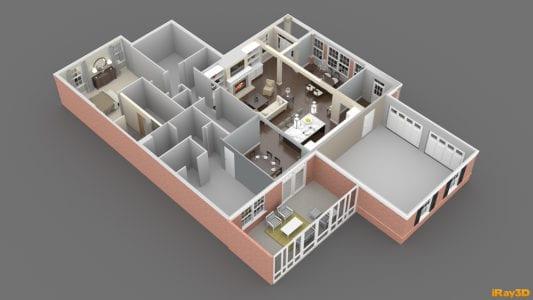 cottage floorplan overview
