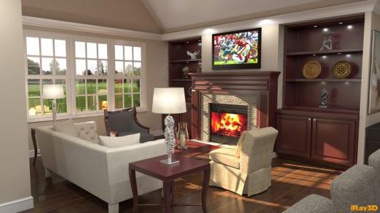 savannah cottage living room