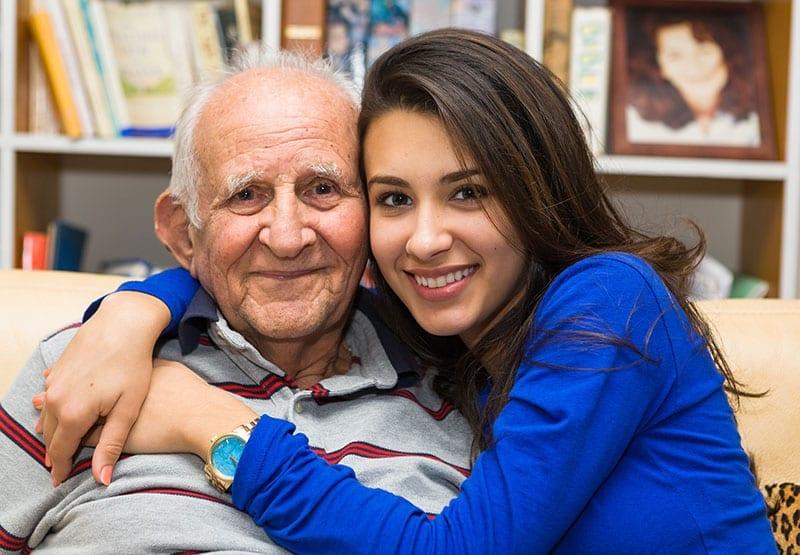 senior man memory care