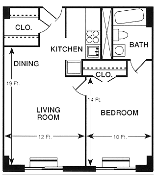 asbury harris apartment floor plan