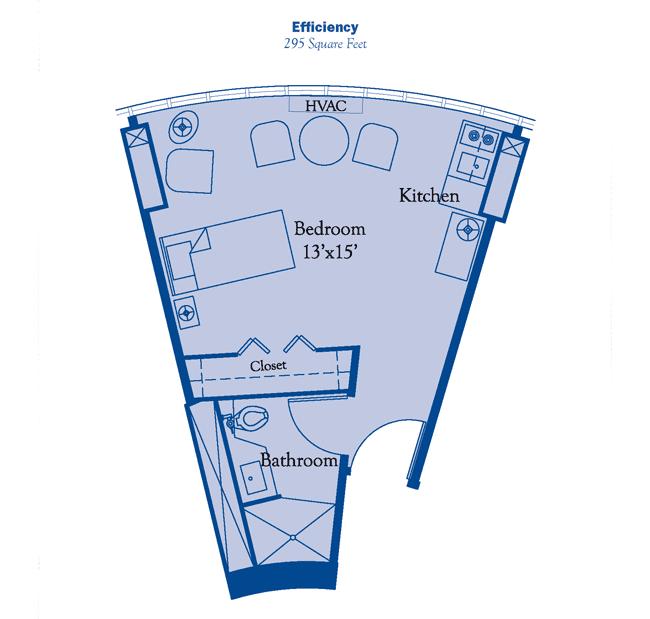 efficiency floor plan