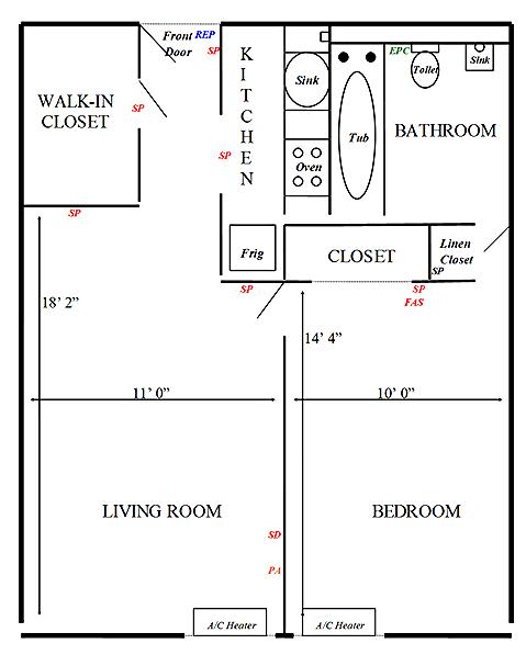st. john towers floor plan
